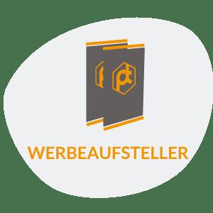 WERBEAUFSTELLER